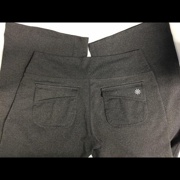 3edb7a2bd1 Athleta Pants - Athleta yoga pants boot leg with back flap pockets